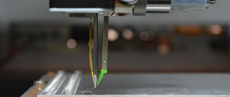 Dickdraht Bondkopf mit 50 µm Draht