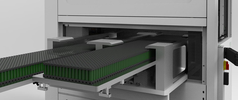 Automatisierung vom BJ985 mit Batteriezellen