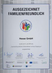Zertifikat-Familienfreundlichkeit-Hesse-GmbH
